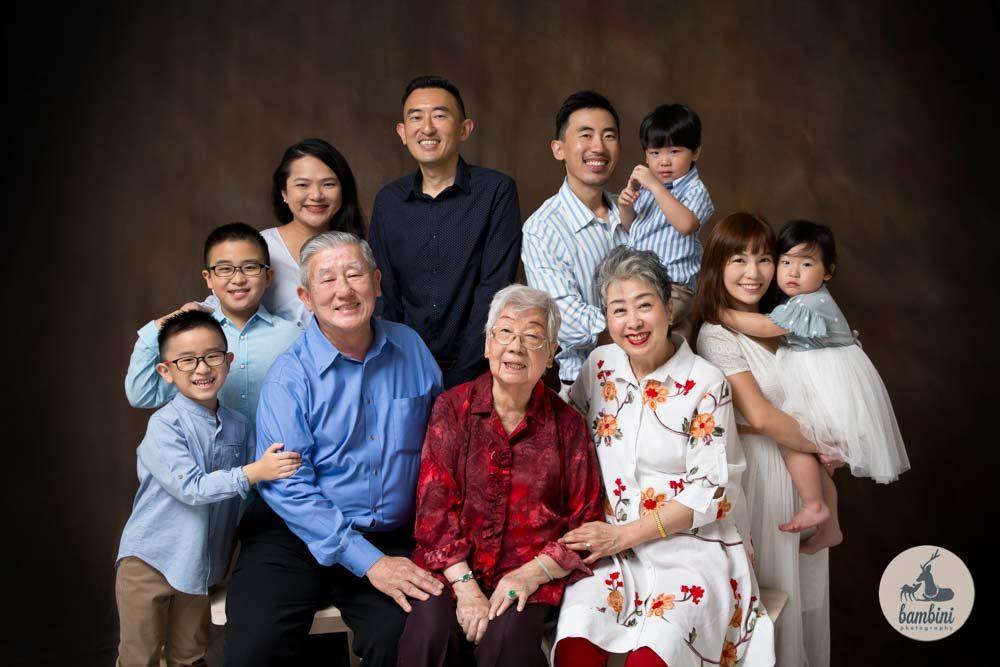 Big Family Portrait Studio