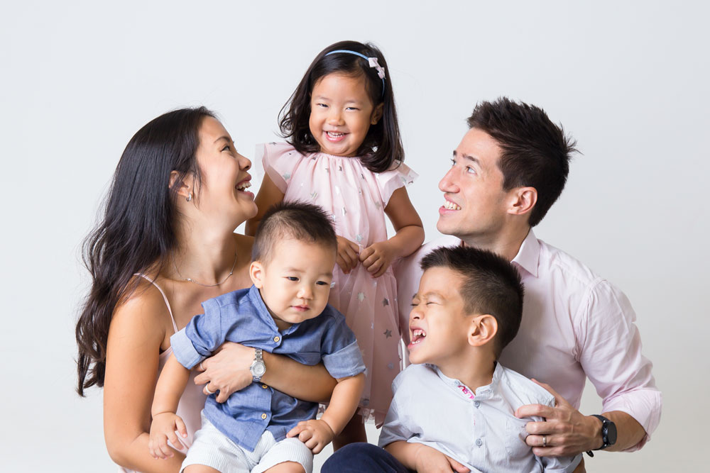 8 reasons why families do professional family portraits