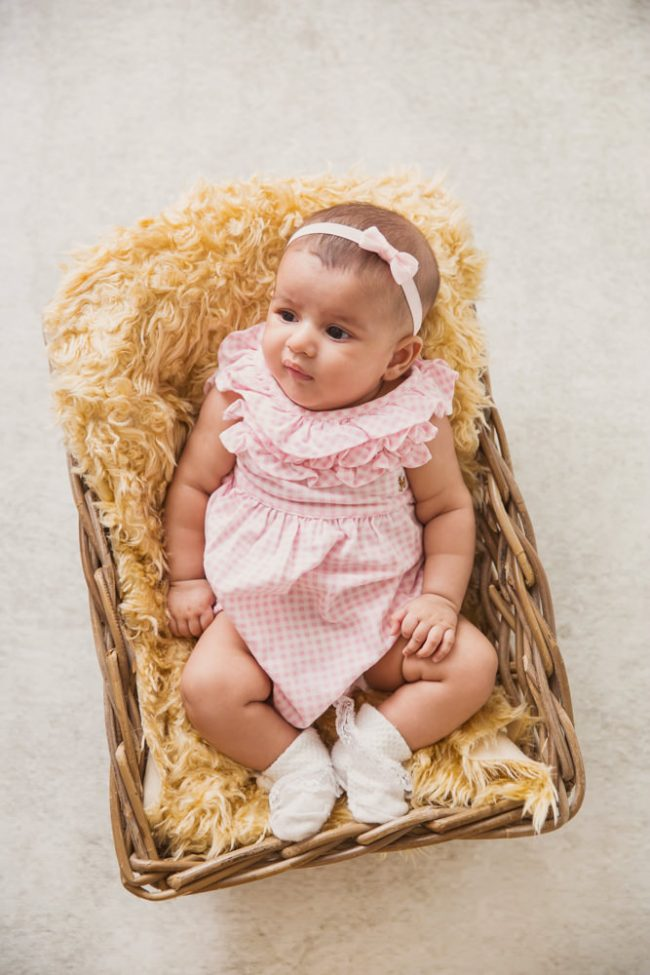1 Month Baby Studio Photoshoot