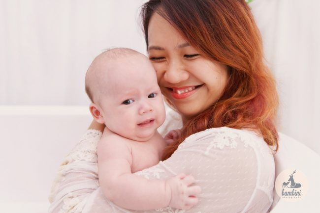 100 Days Baby Photo
