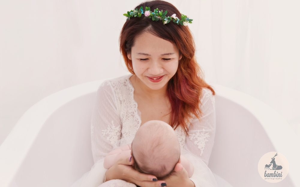 100 Days Baby Studio Photoshoot