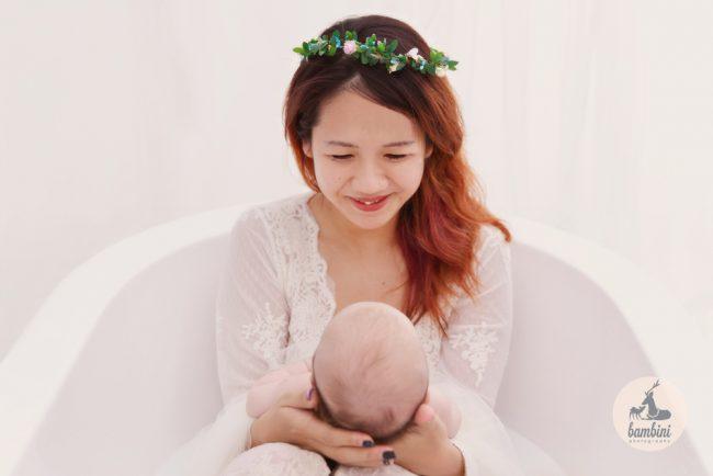 100 Days Baby Studio Photoshoot