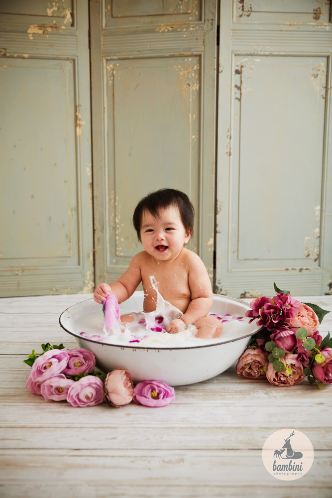 8 Months Baby Milk Bath Singapore