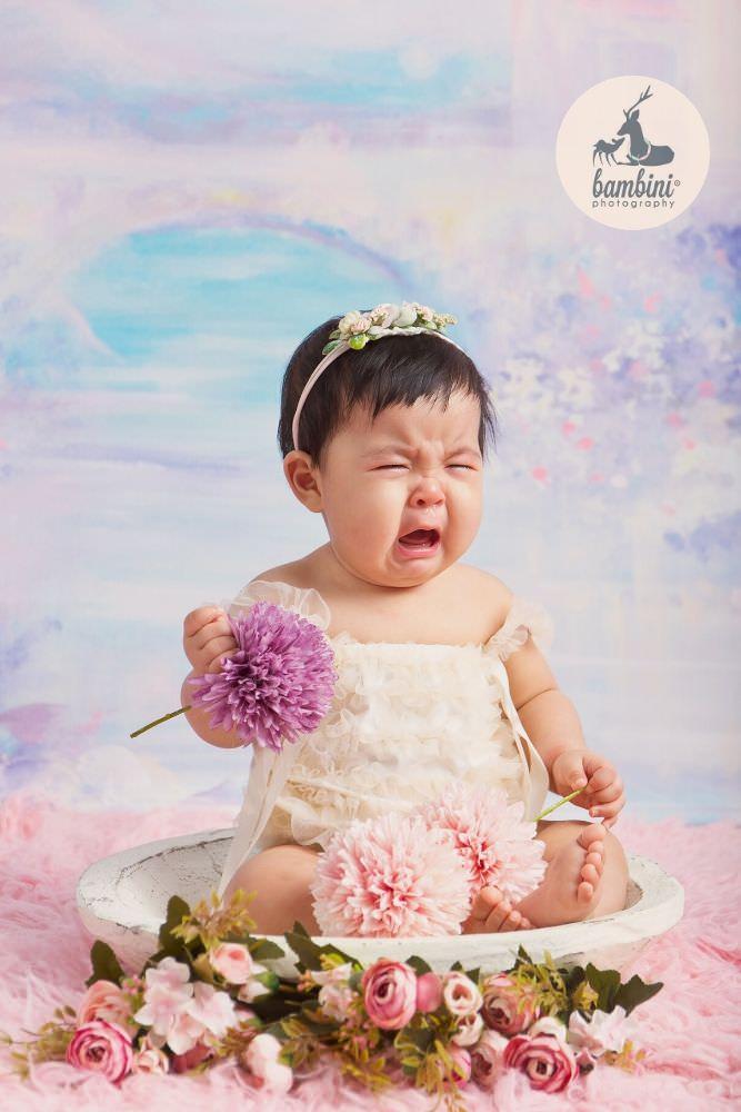 Baby Sitter Milestone Photography