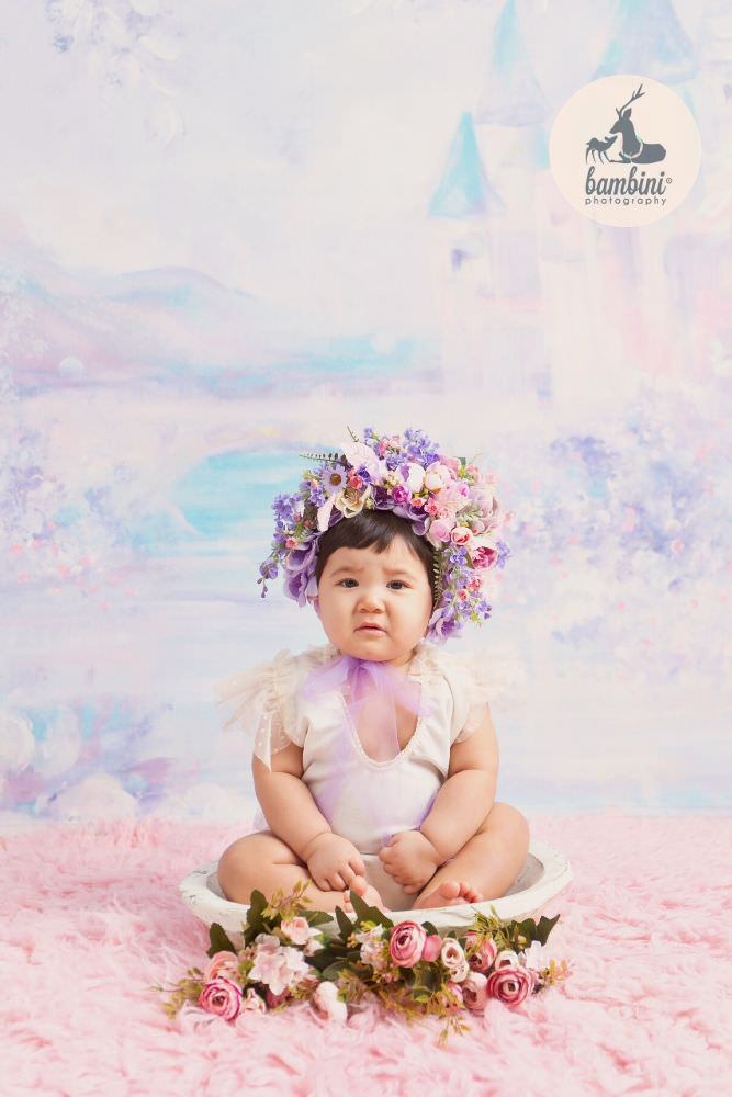 Baby Sitter Milestone Photoshoot