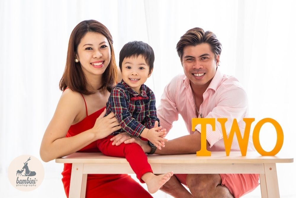 Birthday and Family Photoshoot Web