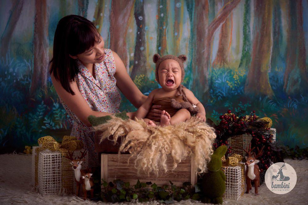 Christmas Photography Baby