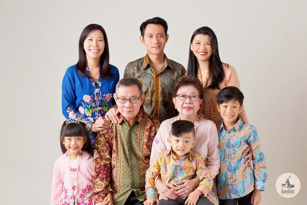 Family Photoshoot Peranakan