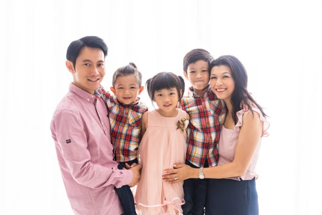 Family Portrait Studio Singapore