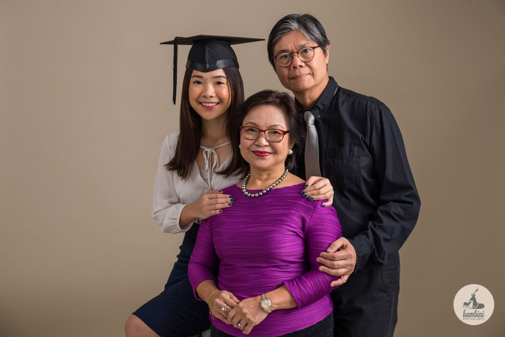 Family and Graduation Portrait