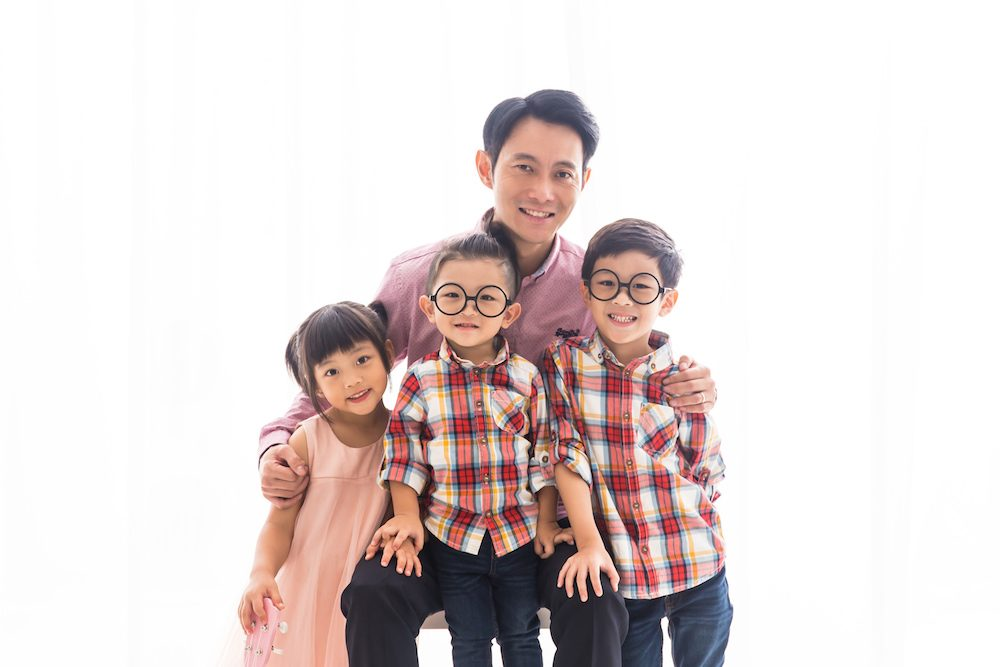 Father and Children Photoshoot