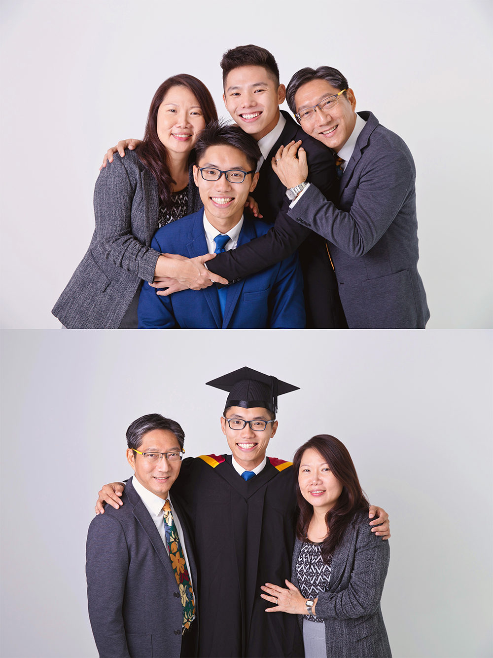 Graduation and Family Photo