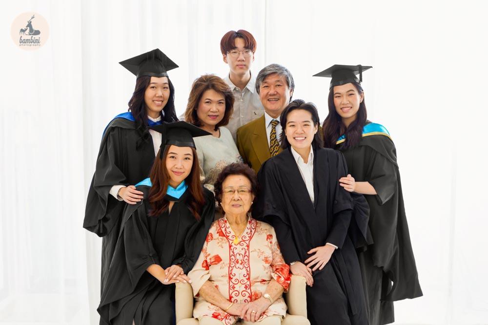 Graduation and Family Photoshoot