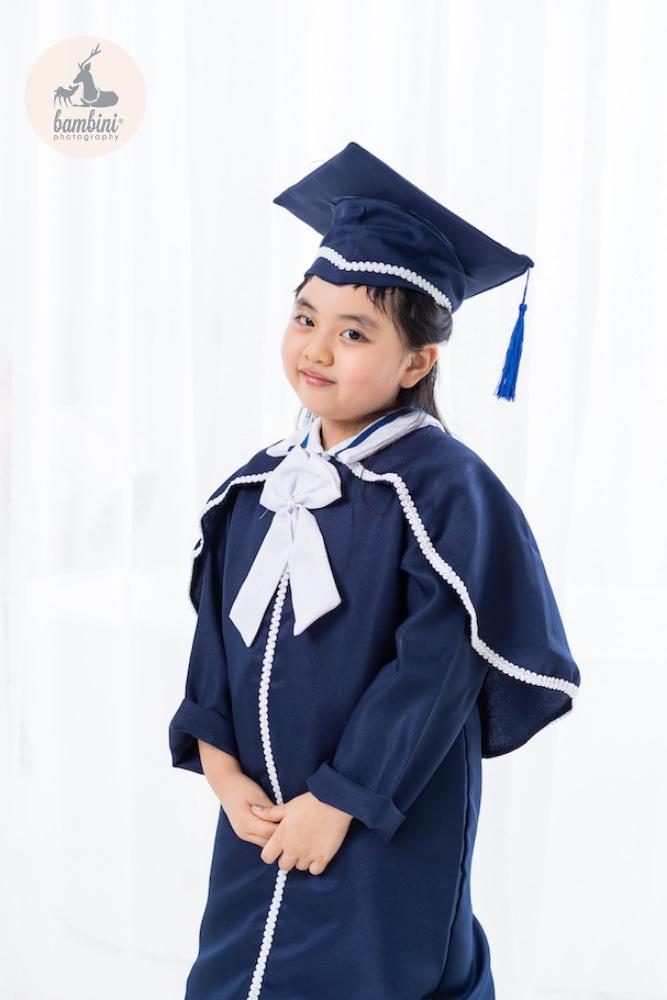 Kindergarten graduation portrait