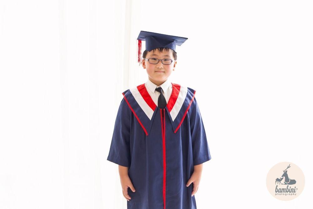 Kindergarten Graduation Studio Shoot