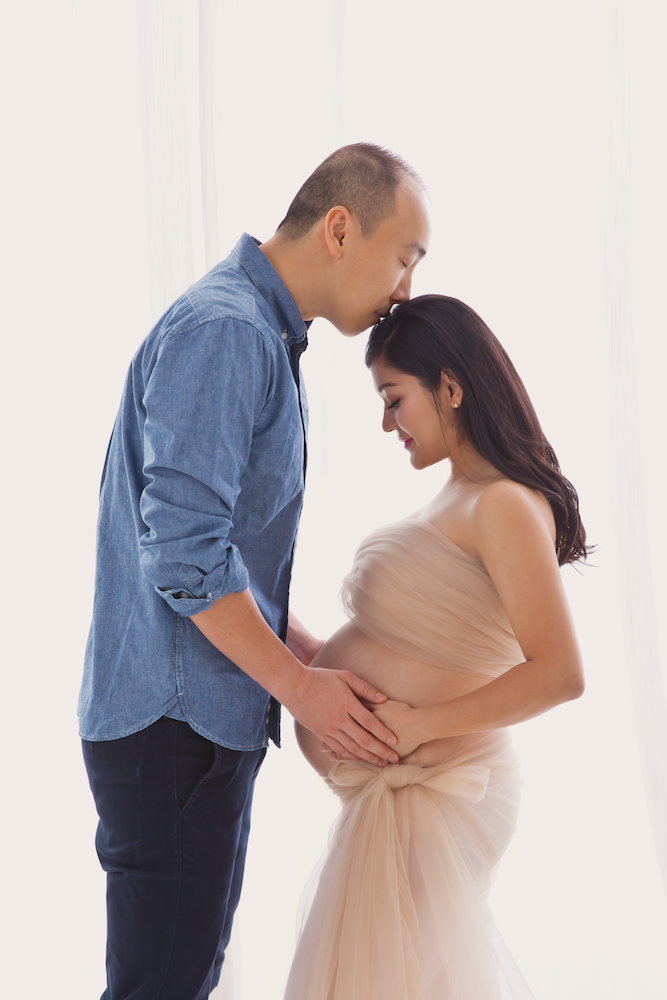 Maternity Photography Blue