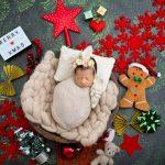 Newborn Christmas Photoshoot