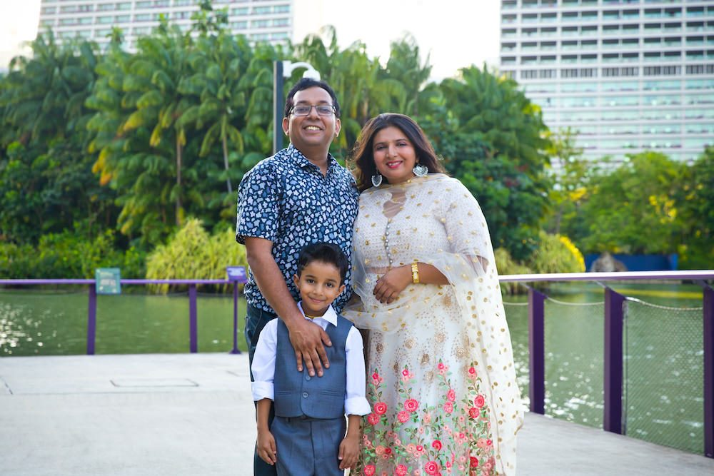 Singapore Family POrtrait 1