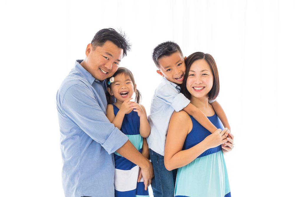 Singapore Family Photoshoot