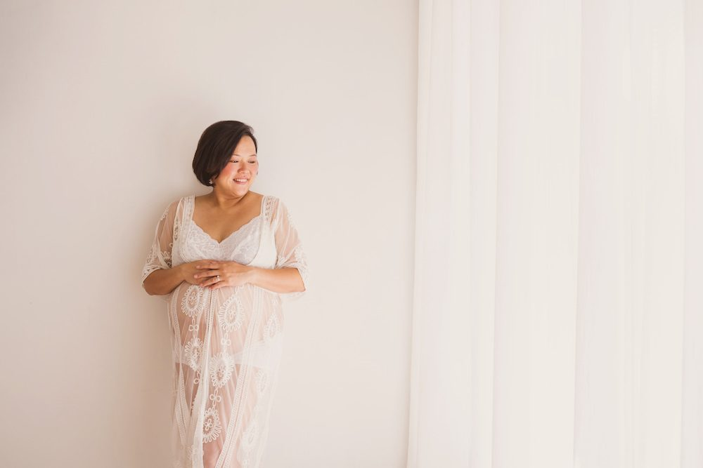 Singapore Pregnancy Studio Photography