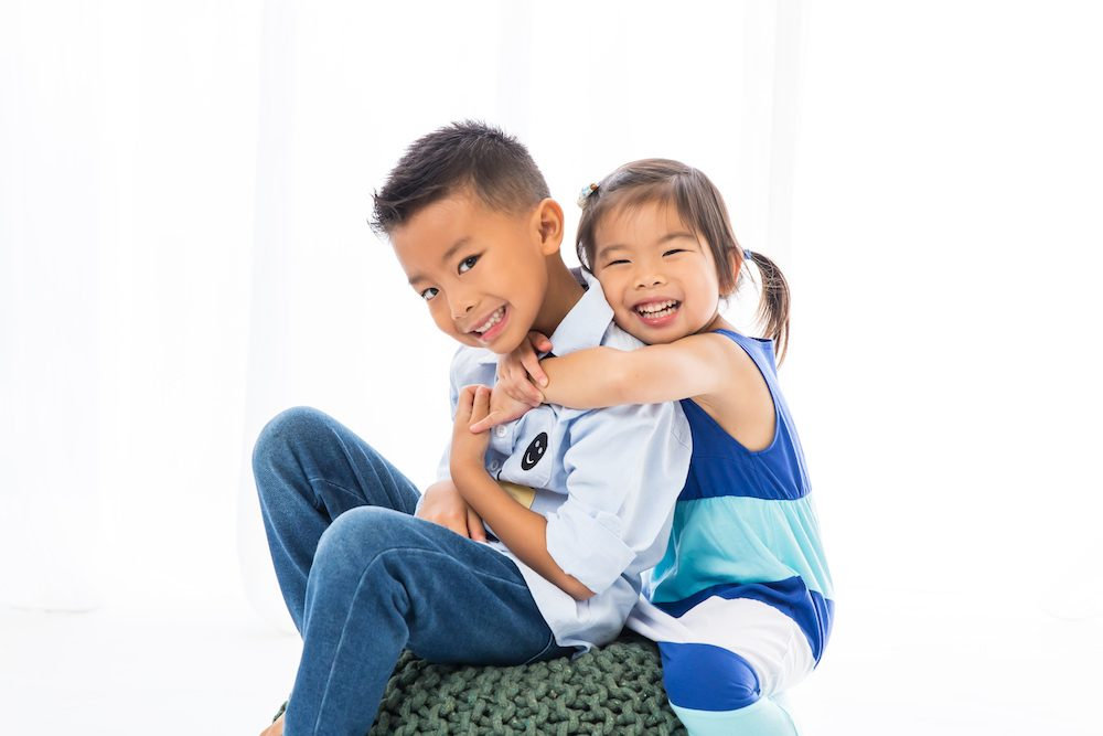Singapore Studio Sibling Childrens Photo