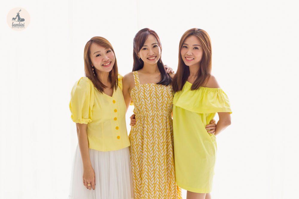 Sisters Family Portrait