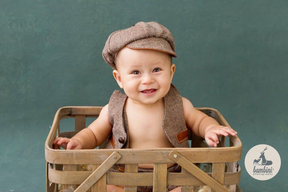 Sitter Baby Portrait
