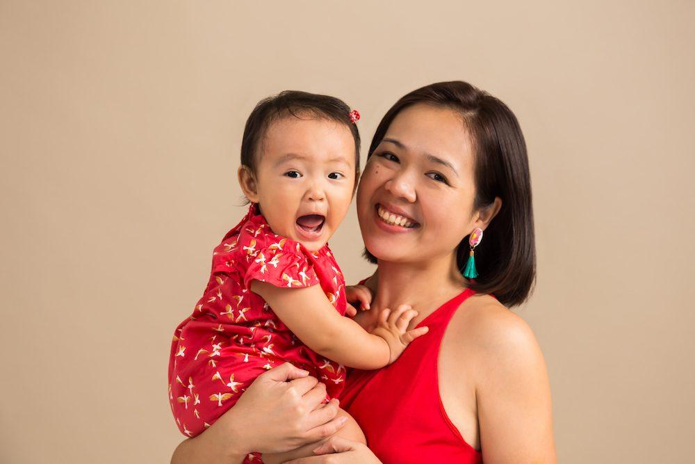 baby and mummy photoshoot