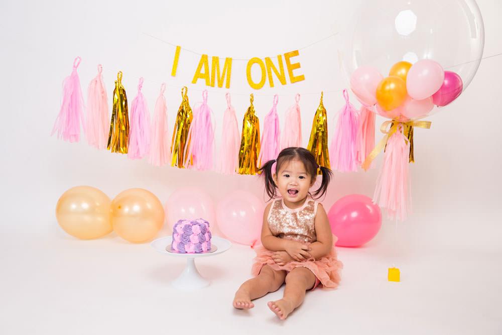 Happy Birthday To Your Kid Cake Smash Photoshoot