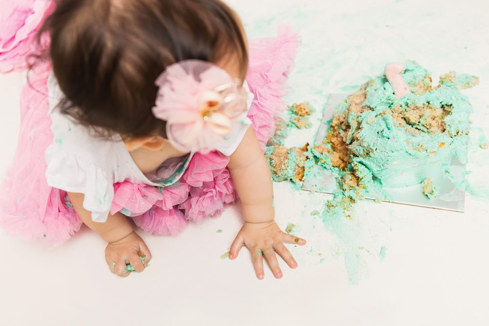 cake smash photography singapore