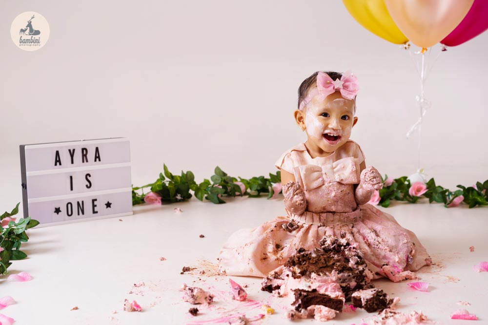 cake smash shoot