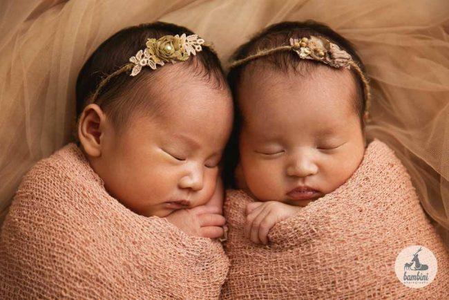 Newborn Twins Photography