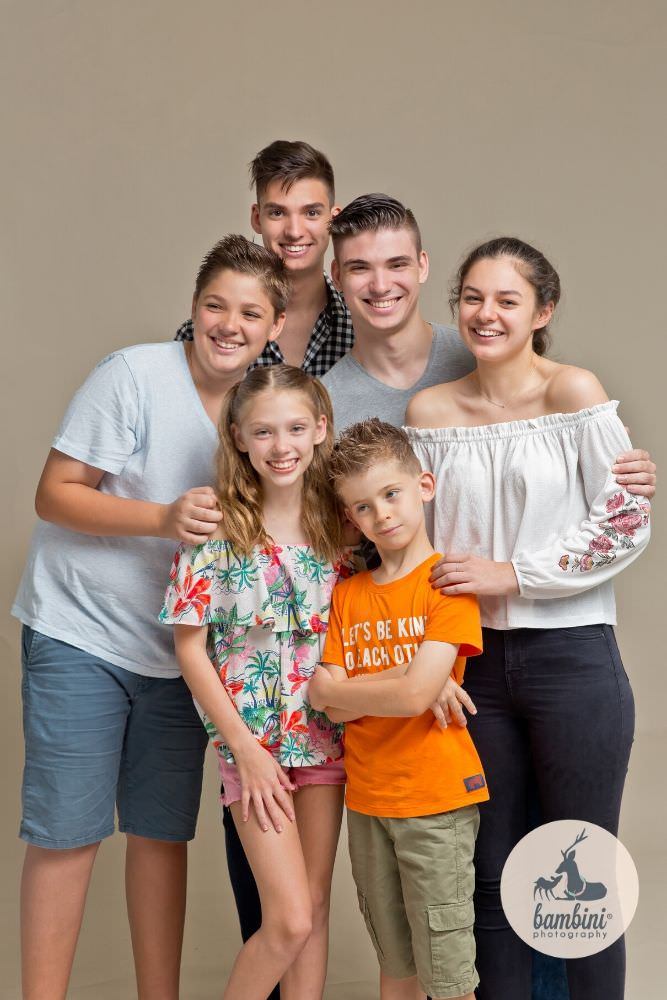studio family photoshoot